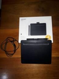 Mesa Digitalizadora Wacom Intuos CTL4100, Preta, Pequena, Semi Nova
