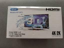 Hdmi Splitter 1x2 Full Hd 1080p 4k