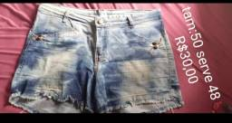 5 shorts e 1 blusa sou de Blumenau bairro garcia