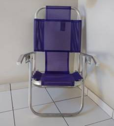 Cadeira de Praia Alta 5 posições