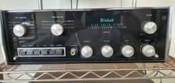 Conjunto McIntosh Amp 2125 e Pre C26