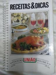 Livro Receitas & Dicas Coleção União - volume 4
