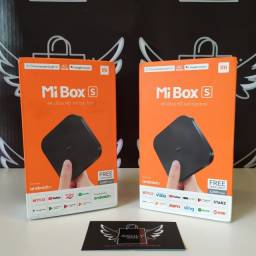 Xiaomi Mi Box S TV 4K com Google Chromecast Integrado 6x Sem Juros