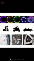 SÓ HOJE!!! Led pra pneu de carro, moto e bicicleta