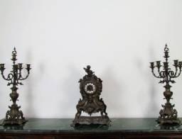 Relógio Garniture francês