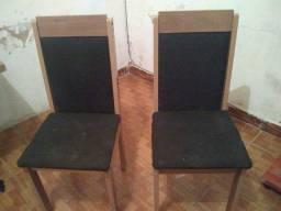 Vendo ou troco mesa com duas cadeiras