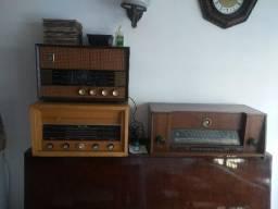 Lote de radios antigos
