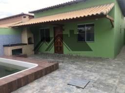 Casa de 02 quartos com fino acabamento