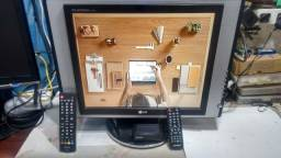 "Tv Monitor Digital Digital Lg 17"" Polegadas"