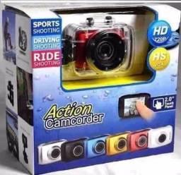 Camera Action Camcorder Sports 4K, a prova d?água