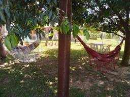 Velleda oferece terrenão com casa pré fabricada e piscina, pomar da lagoa