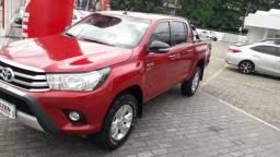 Toyota Hillux SR Flex 2.7 Aut 2017 Vermelha