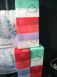 Caixa com 5 sabonetes do Boticário com desconto!!!