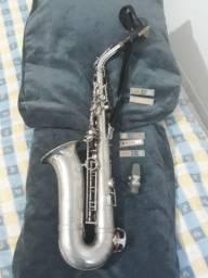 Saxofone Sax Alto Galasso Excelente Sonoridade