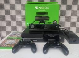 Xbox One 500Gb+Kinect+2 controles+2 jogos