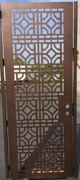 Porta Marroquina de Aço reforçada imprime a arte no metal *melhor preçoO
