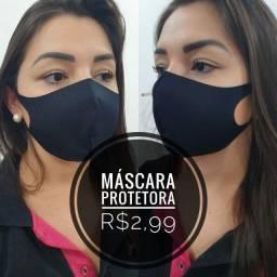 Máscara - Vários modelos e cores - Fazemos Entrega