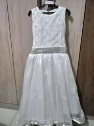 Vestido de daminha $ 80,00