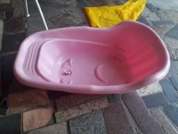 Banheira  rosa