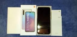 Redmi Note 8 - Preto - Lindo - Tudo perfeito