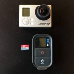 GoPro HERO 3+ (Aceito cartão)