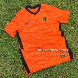 Camisa Holanda 2021/22 - Fanático Store - Pronta entrega!