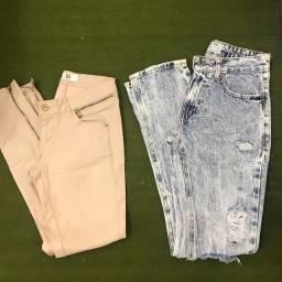 2 calças 36