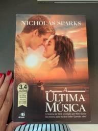 Título do anúncio: Livro Última música - Nicholas sparks