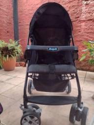 Carrinho de bebê da burrigotto  Rio K 0 a 15 kg, preto