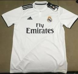 Camisa Real Madrid Adidas Importada Temp 2018 Entrego