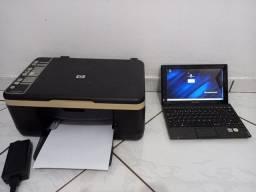 Impressora e netbook Leia a descrição
