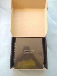 Amplificador de som Falcon DF 900w rms 3 canais. Zero na caixa.