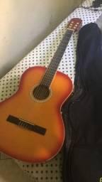 Vendo violão acústico novo urgente