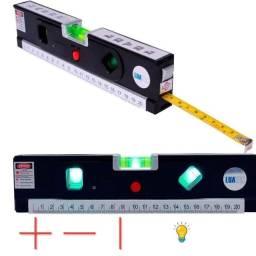Trena Nível a Laser Nivelador Led - Novo
