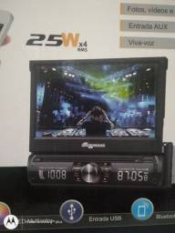 DVD automotivo 2din central multimídia