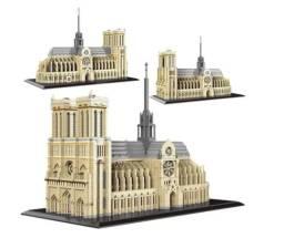 Bloco De Montar Castelo Notre Dame De Paris 73820 Peças