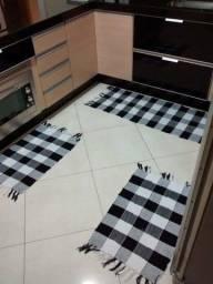 """Tapetes de Cozinha  """"Jogo com 3 peças"""""""