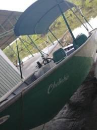 Barco Miraguaia 16 pés 30HP Injetado