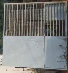 Portão basculante 2,51x 2,83