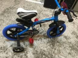 Bicicleta Aro 12 Velox infantil a Selim PU Nathor