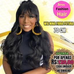 Wig Fibra Futura R$:120,00