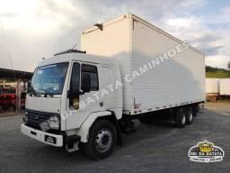 Ford Cargo 1622 Cabine Leito Teto Alto Truck Baú 8,60 Cummins Turbo Intercooler