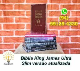 Bíblias King James Ultra Slim tradução Original e Atualizada