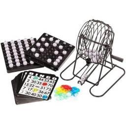 Jogo de Bingo com Roleta e Fichas - RedStar 24pçs ELJ0216
