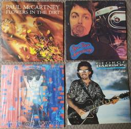 Lote 4 Lps Paul McCartney e GEORGE Harrison- Disco de vinil
