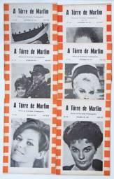 6 Revistas de Cinema A Torre de Marfim Anos 1964-65-66 (item de colecionador)