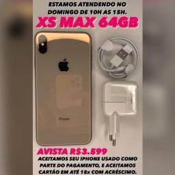 IPHONE XS Max 64GB. PROMOÇÃO!!!!!