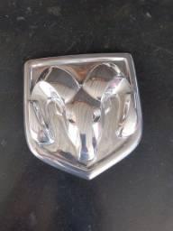 Emblema Bode + escrito Ram em aço inox