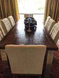 Mesa jantar  8 cadeiras