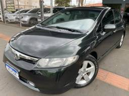 Civic LXS 1.8 A/T Completo 08/08